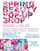Spring Beauty Pop Up Shop