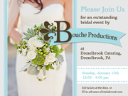 The Delaware County Bridal Expo by Bouche Productions