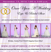 Once Upon a Wedding Expo & Bridal Show
