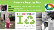 Mark your Calendar for 7th Annual America Recycles Day