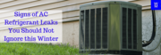 AC Refrigerant Leak