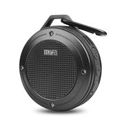 MIFA F10 PORTABLE BLUETOOTH SPEAKER WITH IP56 DUSTPROOF AND WATERPROOF, ENHANCE 3D STEREO BASS, BUILT IN MIC AND MICRO SD SLOT