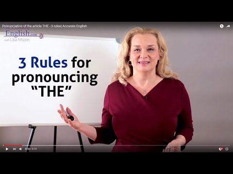 Did you know the rules of 'The'?