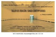 Taller de creación: DEL DISPARADOR CREATIVO AL HECHO ESCÉNICO