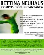 Asunción-Paraguay: Taller de Composición Instantánea con Bettina Neuhaus (Alemania)