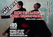 Taller de Danza Contemporánea en Danza Viva-  Set-Dic 2011