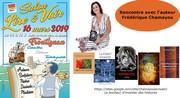 Dédicace au Salon du livre de Frontignan (34110-France)