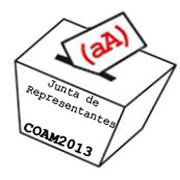 Elecciones COAM Junta de Representantes