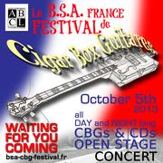 B.S.A. CBGuitar French Festival