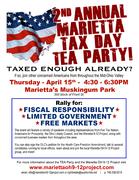 Marietta Tax Day TEA Party