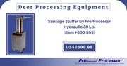 All models of deer processing equipment
