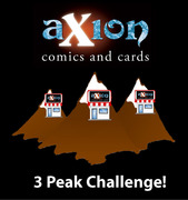 Axion Comics Pre-release Weekend MEGA event: 3 Peaks Challenge