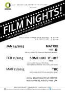 Film Night at the Carlton/Granville Kitchen