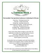 47th Annual Grey Bruce Famers' Week 2013