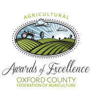 Oxford County Agricultural Awards of Excellence!