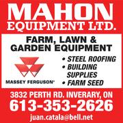 Mahon Equipment Ltd AUCTION JANUARY 23, 2015