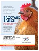 Backyard Chickens Course