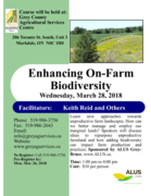 Enhancing On-Farm Diversity - 3CM CEUs available