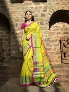 Latest Cotton saree online on Mirraw.com.