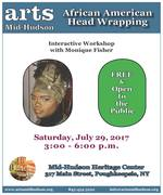 African American Head Wrapping Workshop