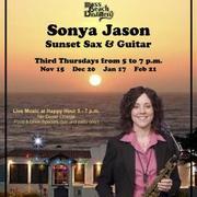Sunset Sax and Guitar