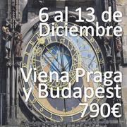 Praga Budapest Viena en el puente de la Inmaculada
