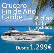 Crucero por el Caribe en Fin de Año Todo incluido