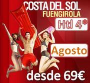 Costa del Sol Agosto desde 69€ en Media Pensión Hotel 4* oferta valida del 23 al 31 de Agosto
