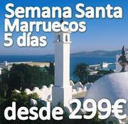 MARRUECOS en SEMANA SANTA desde 299€ (especial SINGLES JOVENES)