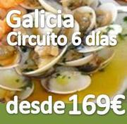 Circuito ::Galicia Rias Baixas :: 6 dias :: Pensión Completa :: desde 169€
