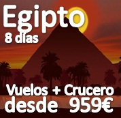 Egipto Singles (Crucero por el Nilo) :: Varias fechas de salida
