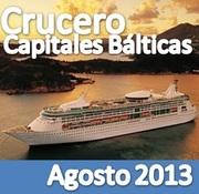 Crucero Capitales Bálticas :: Agosto 2013