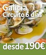 Circuito ::Galicia 6 dias :: Pensión Completa :: desde 199€