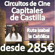Circuito Capitales de Castilla :: 6 Días en Pensión Completa :: desde 285€ :: CIRCUITOS DE CINE (ISABEL)