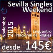 Sevilla Singles Weekend :: Noviembre 2016 :: 3 días, 2 Noches en Hotel 4* :: desde 145€