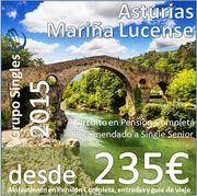 Asturias 6 dias desde 235€ :: Circuito en Pensión Completa :: Salida en Mayo
