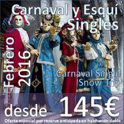Carnaval y Esqui Singles :: Carnaval & Snow Trip :: 5-7 febrero 2016 desde 145€