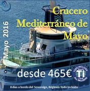 Crucero Mediterráneo de Mayo