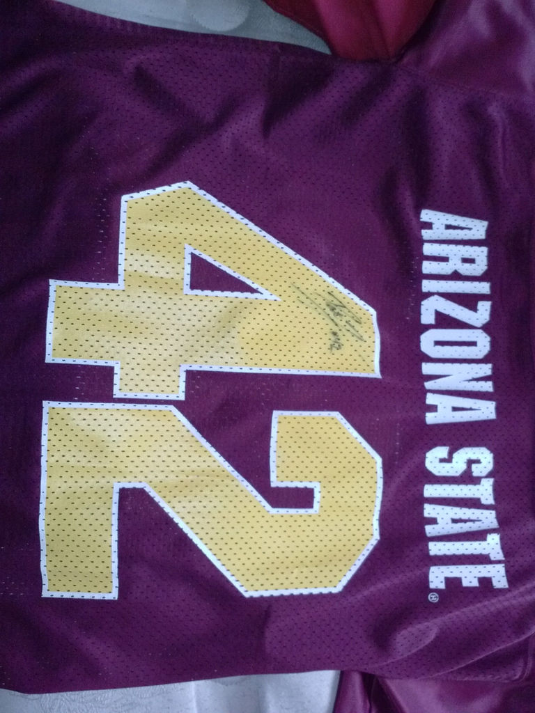 new style 68a4f 323a1 Interesting Pat Tillman jersey for sale on EBAY by seller ...