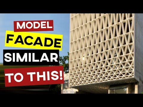 Grasshopper Tutorial - Building Facade