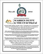 Warren Duffy, on Stopping CA Cap & Trade!