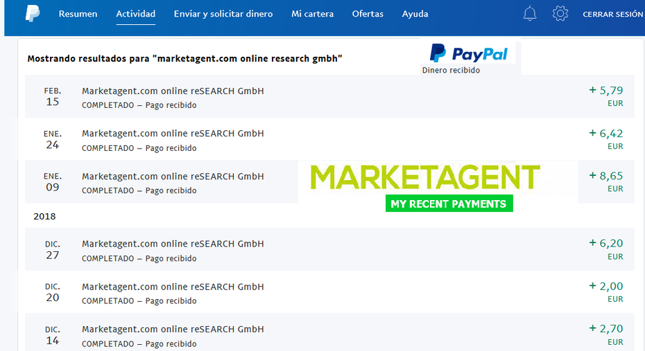 pagos marketagent