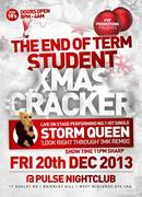THE END OF TERM STUDENT XMAS CRACKER