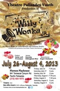 Willy Wonka!  Live Performance