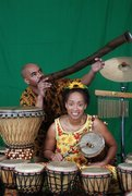 """Drumbeats and Traveling Feet"" - Tales & Rhythms by Ina and Chazz"
