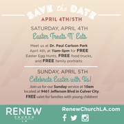 Easter Treats N' Eats | Renew Church LA