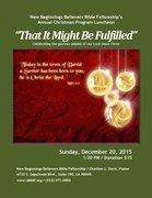 Annual Christmas Program Luncheon