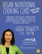 Nutritional Vegan Cooking & Healthy Digestion Class-free