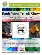 Baah Yarn Trunk Show