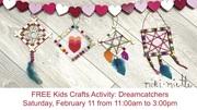 FREE Kids Craft Activity: Dreamcatchers at Miki Miette Flagship